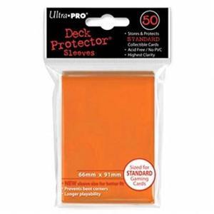 TC UltraPRO 通常サイズ ソリッドデッキプロテクターハードスリーブ (オレンジ)50枚入り [91×66mm]|select34