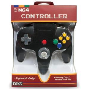 N64 Cirka Controller Black select34
