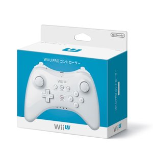 WiiU PRO コントローラー (shiro)