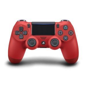 PS4 ワイヤレスコントローラー (DUALSHOCK4) マグマ・レッド (CUH-ZCT2J11...