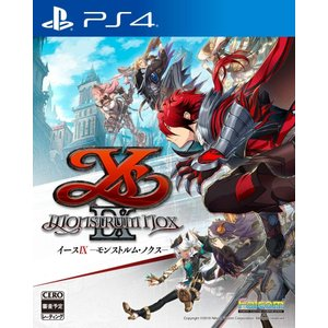 (発売前日出荷) 9/26発売 PS4 イースIX -Monstrum NOX-|select34