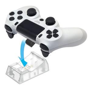 PS4 置くだけ充電スタンド1台用 for DUALSHOCK4(クリア)(HORI)|select34