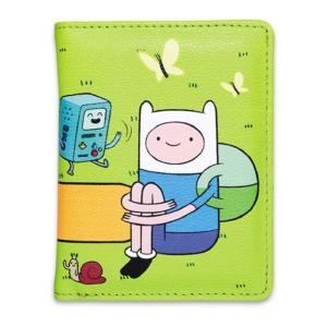 アドベンチャー タイム Adventure Time 2つ折り 財布/芝生にて dream rush|selecta-birra