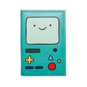 アドベンチャー タイム Adventure Time マルチパスケース 名刺入れ カードケース/ビーモ (BMO) & フィン & ジェイク dream rush|selecta-birra