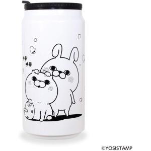 ヨッシースタンプ YOSISTAMP 缶型 サーモ タンブラー ホワイト ナデナデ dream rush|selecta-birra