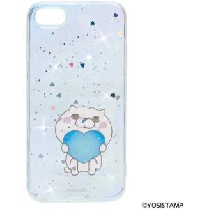 ヨッシースタンプ YOSISTAMP iPhone 8 7 ケース (アイフォン 8 7 カバー) キラキラ スマホカバー/ぬこ ドリームラッシュ|selecta-birra