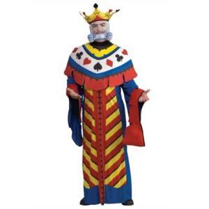 ハロウィン コスチューム トランプのキング 大人用 コスチュ...