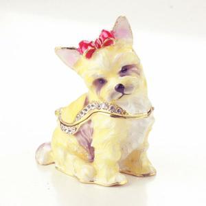 【ジュエリーボックス】ヨークシャテリア 犬  ジュエリーボックス 3711 selectag