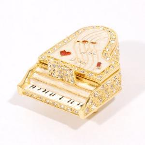 【ジュエリーボックス】 グランドピアノ ジュエリーボックス 3782 ホワイト selectag