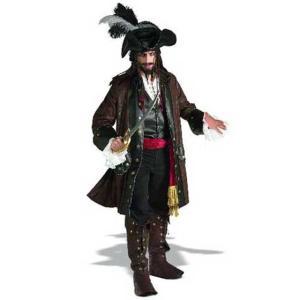 ハロウィン コスチューム カリブの海賊 デラックス 大人用 ...