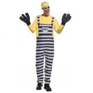 ハロウィン コスチューム ミニオンズの囚人服のトム 大人用 ...