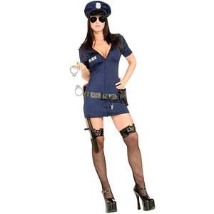 ハロウィン コスチューム 警察官 オフィサー フリスキー 大...