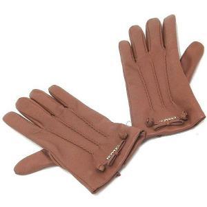 a398ca1b5372 訳アリ≫コーチ 手袋 COACHコーチ アウトレット ティー ローズ ボウ レザー グローブ / 手袋 F32708 SAD サイズ違い