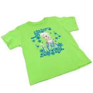 Disney ディズニー アナと雪の女王 Tシャツ (エルサ) / キッズ チェニック 女の子用 FRT02 (サイズ4-5)|selectag