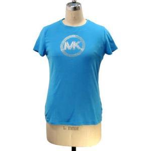 MICHAEL KORS マイケルコース アウトレット Circle Logo Tシャツ  JS35E63D41 BL|selectag