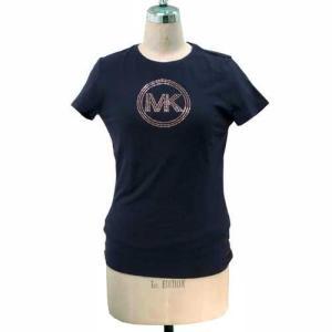 MICHAEL KORS マイケルコース アウトレット Circle Logo Tシャツ  JS35E63D41NYS|selectag