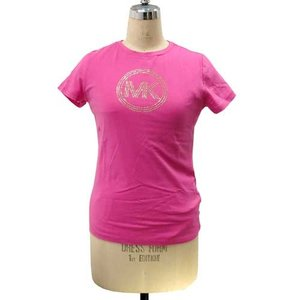 MICHAEL KORS マイケルコース アウトレット Circle Logo Tシャツ  JS35E63D41 PK|selectag