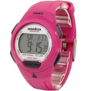 TIMEX タイメックス アイアンマン IRONMAN 10ラップ フルサイズ マゼンタ レディース  腕時計  T5K780|selectag