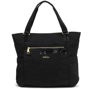 KipLing キプリング アウトレット パテント ナイロン ランチ  トート バッグ TM5298 959 n70707|selectag