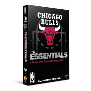 NBA ブルズ DVD The Essentials: Five All-Time Great Games of the Chicago Bulls 2012【1910価格変更】