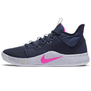 Nike PG シューズ/スニーカー PG 3 EP オブシディアン/ピンクブラスト/ウルフグレー/...