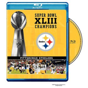 NFL スティーラーズ 第43回 スーパーボウル 優勝記念 ブルーレイ/Blu-ray