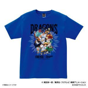 中日ドラゴンズ グッズ Tシャツ ワンピース×ドラゴンズ Tシャツ (麦わらの一味) Space A...