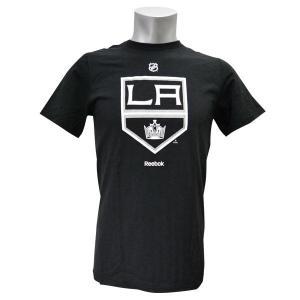 NHL キングス Tシャツ ブラック リーボック Primary Logo S/S Tシャツ|selection-j