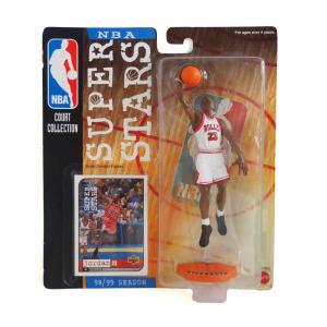 お取り寄せ NBA ブルズ マイケル・ジョーダン コートコレクション アクションフィギュア Upper Deck ホーム レアモデル|selection-j