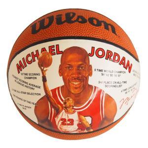 NBA ブルズ マイケル・ジョーダン ミニバスケットボール 1991年モデル Wilson レアモデル|selection-j