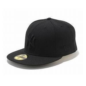 MLB ヤンキース キャップ/帽子 ブラック/ブラック ニューエラ 5950 Custom Color キャップ|selection-j