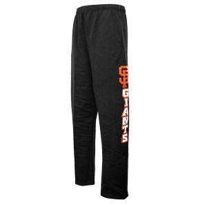 MLB ジャイアンツ スウェットパンツ ブラック マジェスティック Hook Side Fleece パンツ selection-j