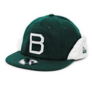 MLB ドジャース キャップ/帽子 グリーン/ホワイト ニューエラ 8panel Flip Down キャップ|selection-j