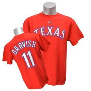 MLB レンジャーズ ダルビッシュ有 Tシャツ レッド マジェスティック Player Tシャツ 特別セール 特別セール 特別セール 特別セール|selection-j