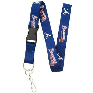 MLB ブレーブス ネックストラップ ネイビー ピーエスジー/PSG Breakaway Lanyard|selection-j