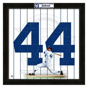 MLB ヤンキース レジー・ジャクソン フォト ファイル/Photo File UNIFRAME 20 x 20 Framed Photographic|selection-j