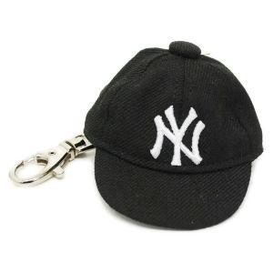 MLB ヤンキース キャップ/帽子 ブラック ニューエラ キャップ Keyholder|selection-j
