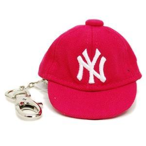 MLB ヤンキース キャップ/帽子 ブライトローズ ニューエラ キャップ Keyholder|selection-j