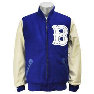 MLB ドジャース ジャケット 1947-ロイヤル ミッチェル&ネス Wool ジャケット【1902MLBセール】|selection-j