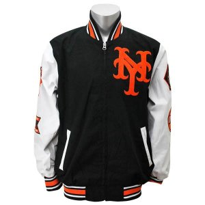MLB ジャイアンツ ジャケット ブラック/ホワイト ジースリー/G-III Final Out Commemorative Full Zip ジャケット【1902MLBセール】|selection-j