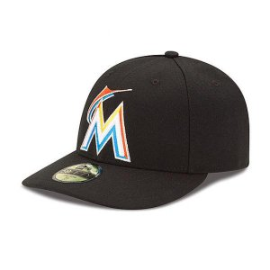 MLB マーリンズ キャップ/帽子 ゲーム ニューエラ Authentic Low Crown On-Field 59FIFTY キャップ|selection-j