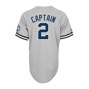 MLB ヤンキース デレク・ジーター ユニフォーム ロード Majestic selection-j
