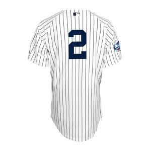 MLB ヤンキース デレク・ジーター ユニフォーム ホーム Majestic【1902MLBセール】 selection-j