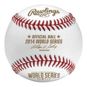 MLB ボール ローリングス/Rawlings 2014 World Series Official Game Baseball|selection-j