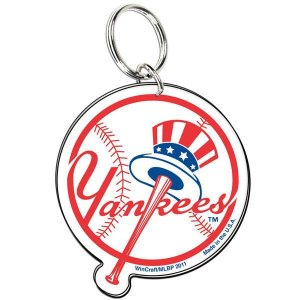 MLB ヤンキース キーリング ウィンクラフト/WinCraft Acrylic Key Ring Ball Logo selection-j