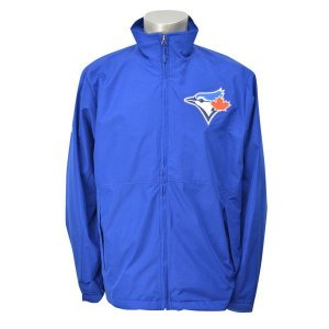 【セール】MLB ブルージェイズ ジャケット ブルー マジェスティック Authentic Wind ジャケット 3-in-1バラ|selection-j