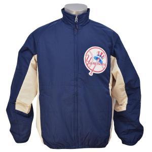 MLB ヤンキース ジャケット ネイビー マジェスティック Cooperstown Double Climate ジャケット