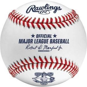 MLB ヤンキース バーニー・ウィリアムス ボール ローリングス/Rawlings Commemorative Retirement Cubed Baseball|selection-j