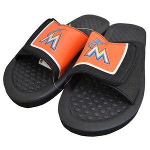 MLB マーリンズ サンダル Forever Collectibles 2014 MENS SHOWER SLIDE FLIP FLOP selection-j