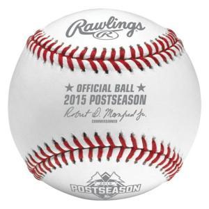 MLB 2015 POST SEASON 公式球 Rawlings|selection-j